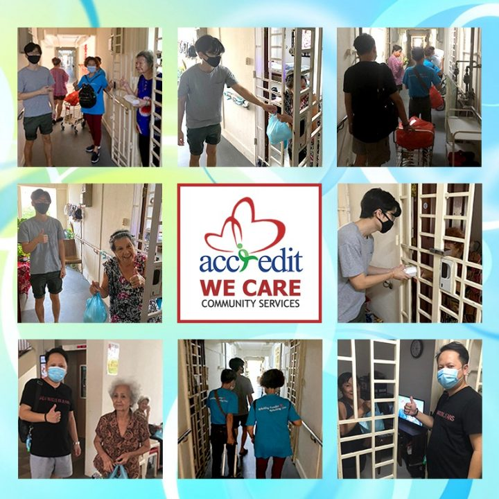 We Care @ Chai Chee with partners Blessed Grace Social Services (BGSS)