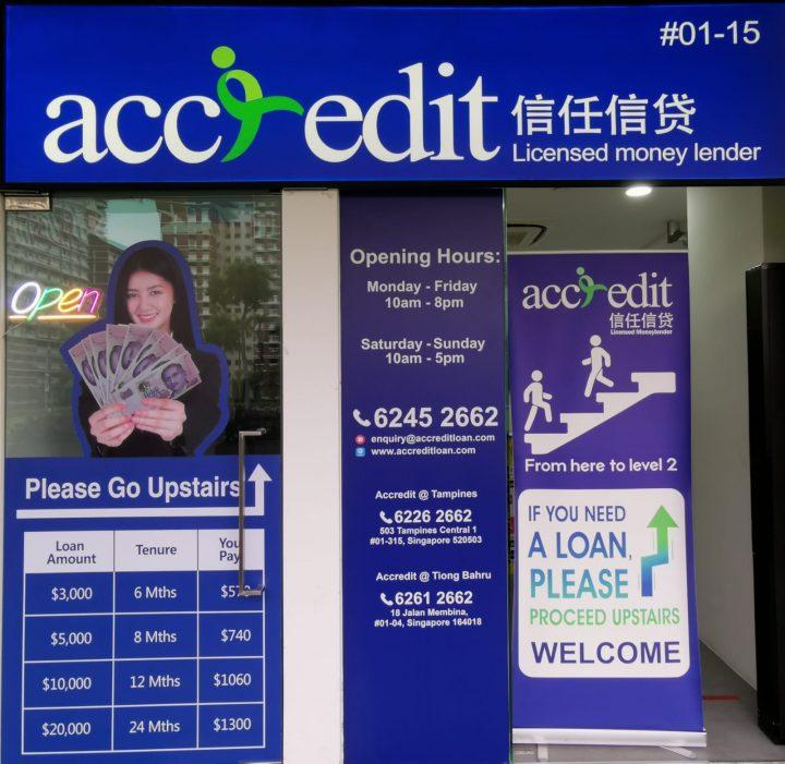 Accredit Licensed Money Lender in Hougang